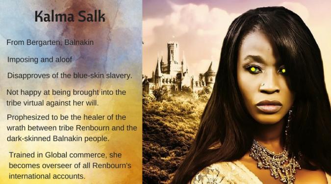 Kalma Salk character card