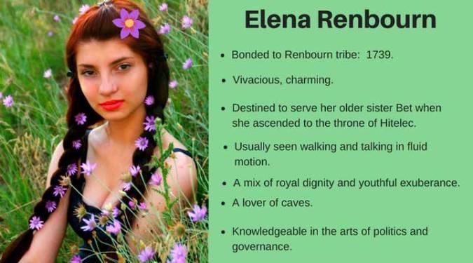 Elena character card