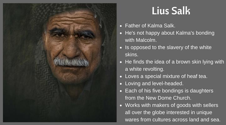 Character card Lius Salk