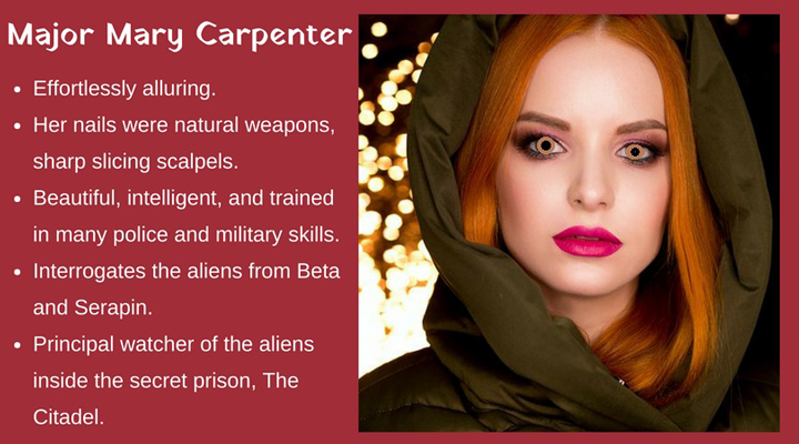 Character card - Mary Carpenter