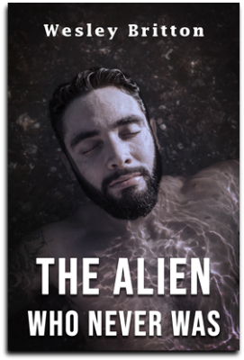 Cover, The Alien Who Never Was