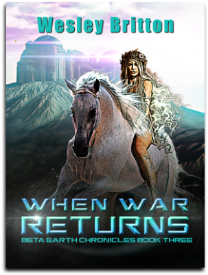 Cover, When War Returs, Book 3