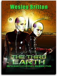Cover, The Third Earth, Book 5
