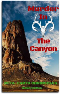 Cover, Murder in the Canyon