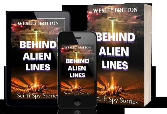 Cover Behind Alien Lines